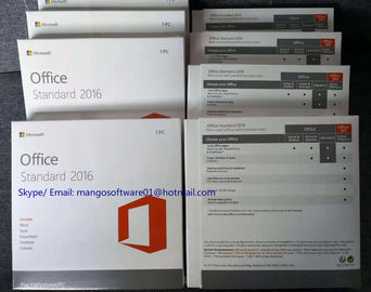 Genuine Microsoft Office Home Business 2016 Retail Key Activation Online DVD Media