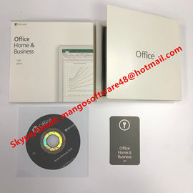 Hot sale English/Russian Language Microsoft Office Home And Business 2019 DVD for Windows 10 System